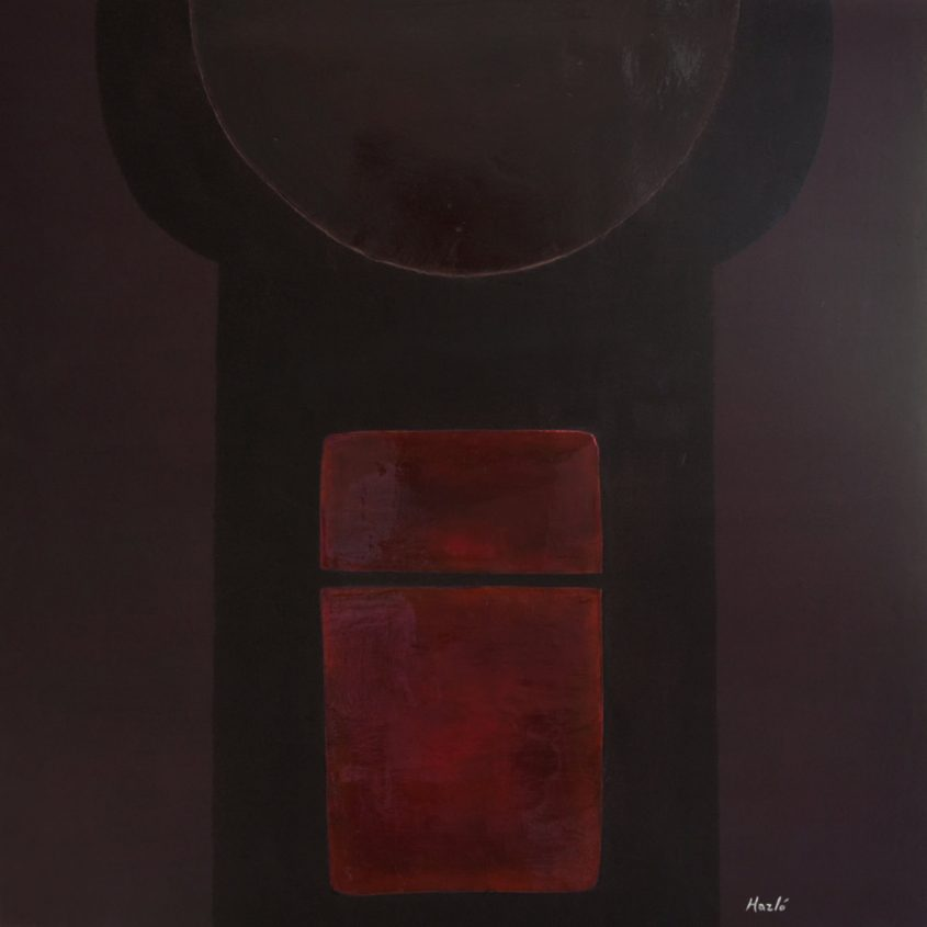 L'APPROCHE (THE APPROACH) / 39×39″ / 100x100cm