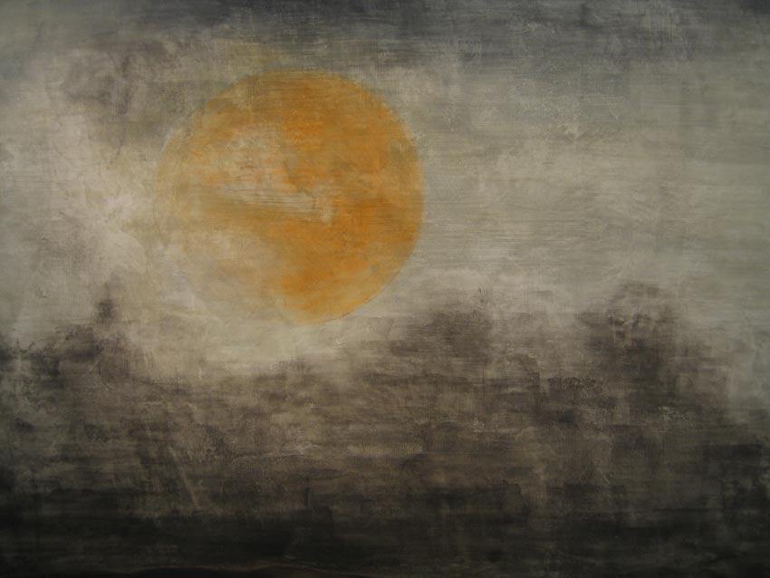 Landscape Paintings close-up