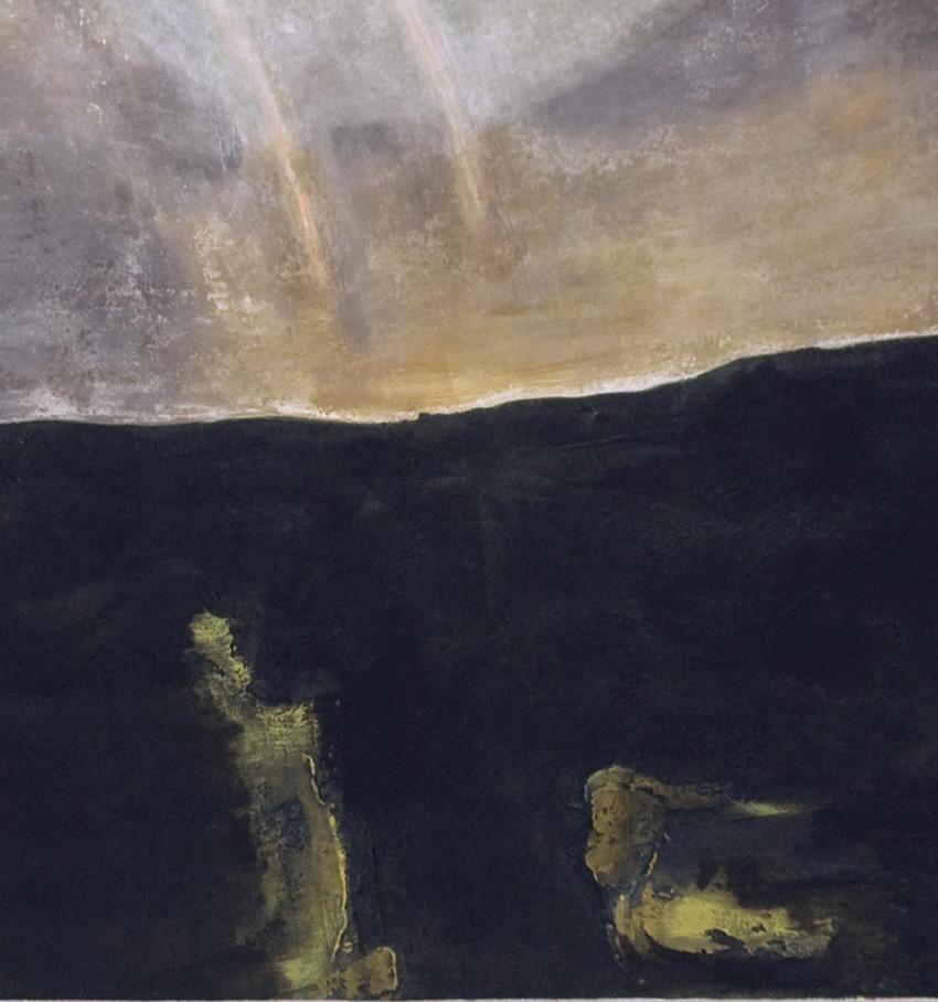 Landscape Paintings -close-up